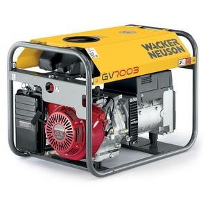 Agregat Wacker GV7003 o mocy 5kW jedno lub trójfazowy