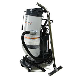 Specjalistyczny odkurzacz przemysłowy Schwamborn STS 130, system odsysania pyłów